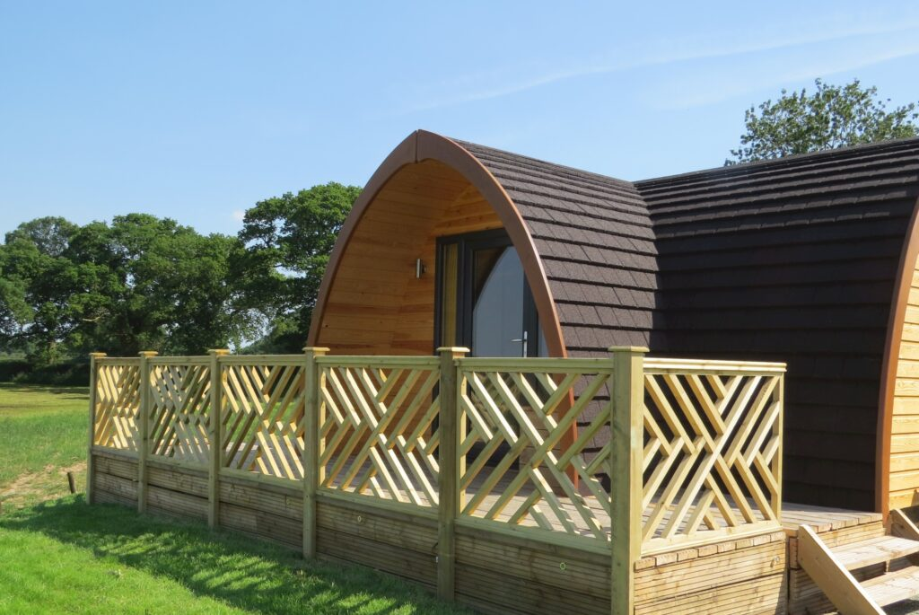Meadow View glamping pod